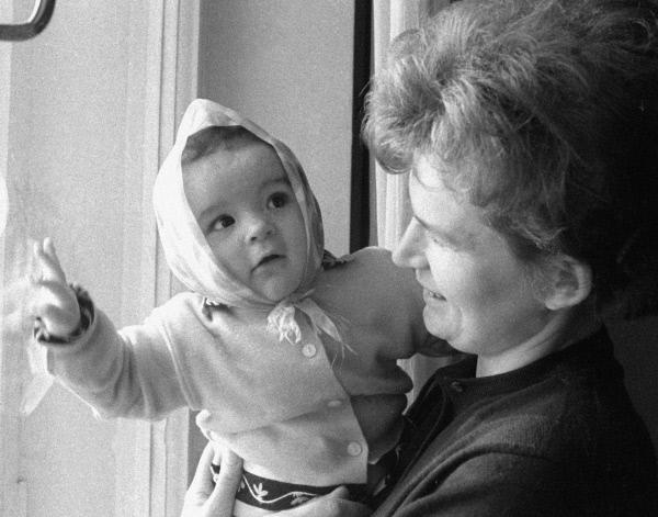 Валентина Терешкова с дочкой