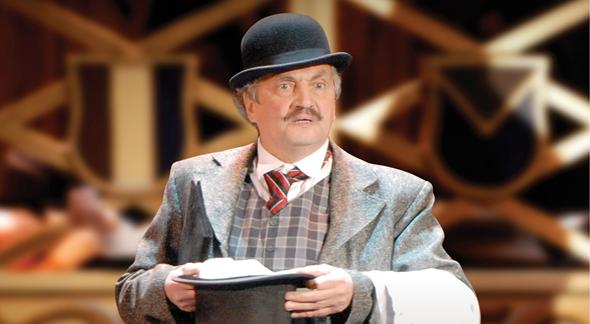 Евгений Теличеев на сцене театра. Фото kinoistoria.ru