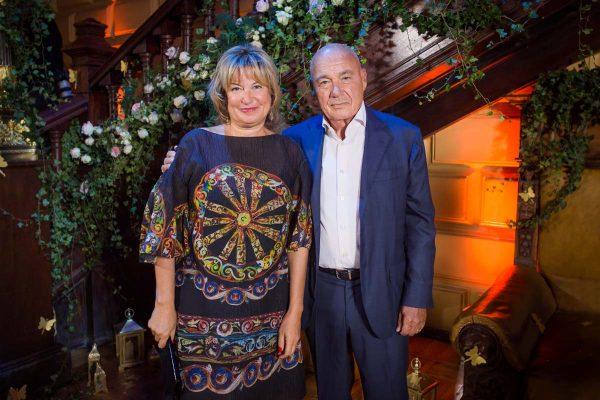 Надежда Соловьёва и Владимир Познер