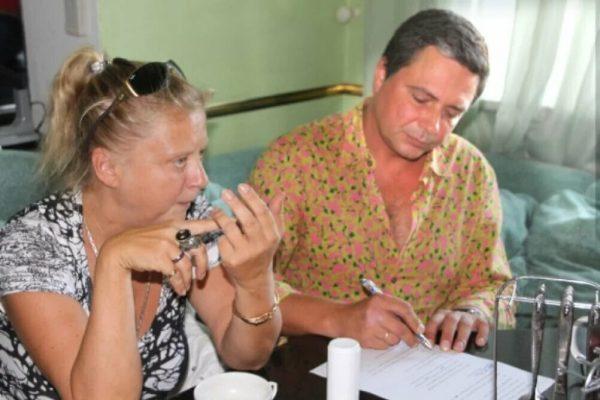 Владимир Асимов с женой