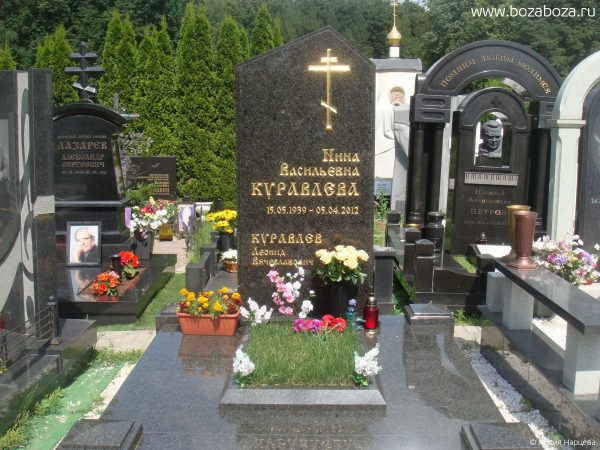 Памятник Куравлевых