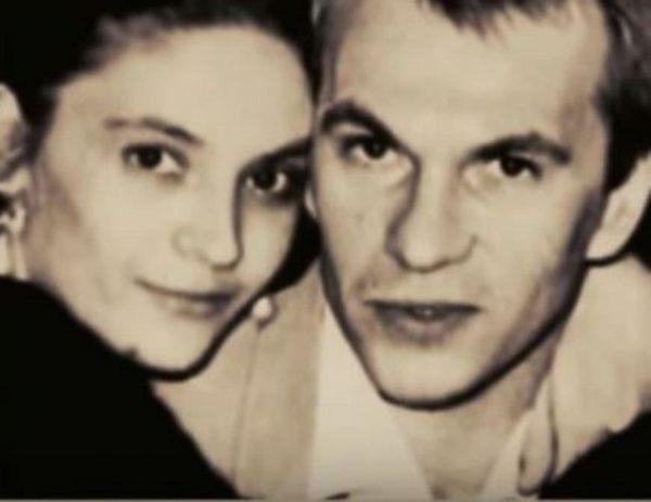Алексей Гуськов с женой в молодости