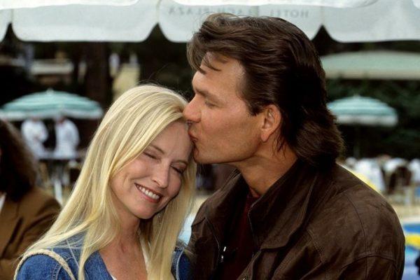 Патрик Суэйзи с женой