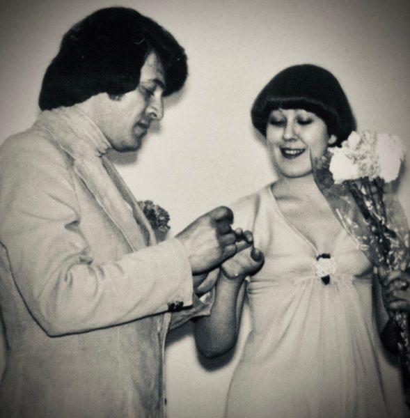 Успенская на свадьбе