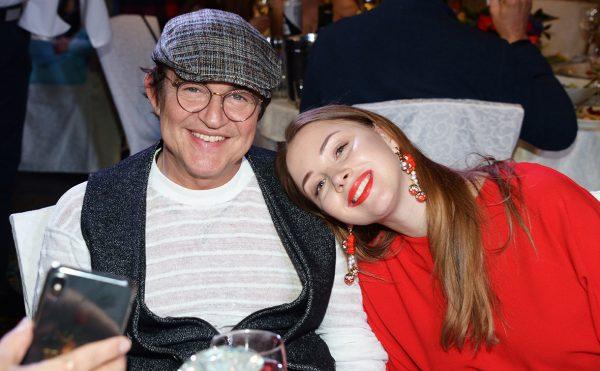 Дибров с женой