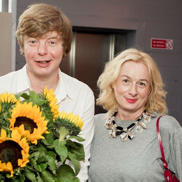 Андрей Григорьев-Аполлонов с сестрой