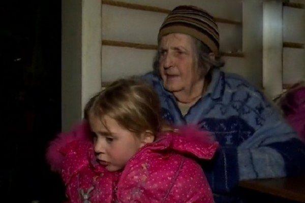 Внучка Сергея Лемоха с бабушкой
