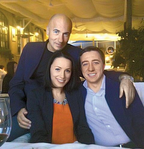 Елена Крутая с бывшим мужем и сыном