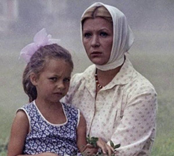 Юлия Космачева в детстве