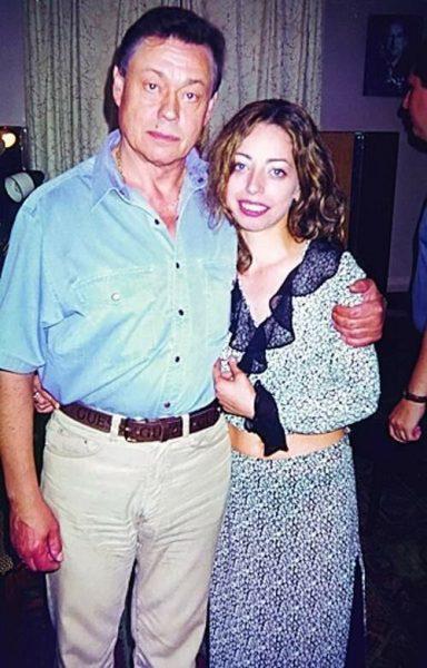 Юлия Космачева с Караченцовым