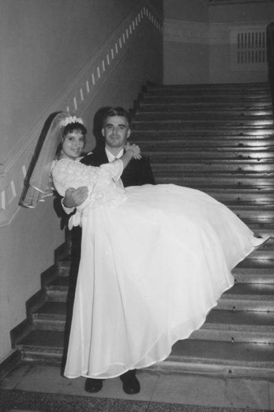 Сергей Мартынов с женой Ксенией