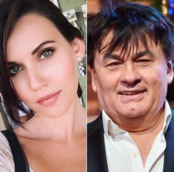 Александр Серов и дочь Алиса,