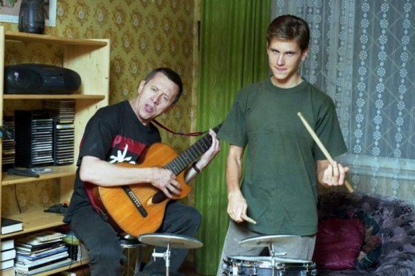 Валерий Золотухин с сыном Сергеем. Фото ygashae-zvezdu