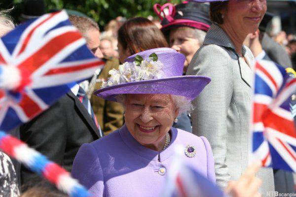 Королева Елизавета. Фото ВВС