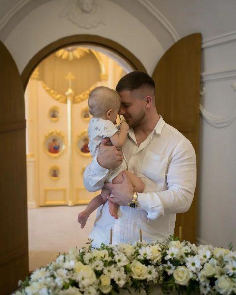 Вячеслав Дайчев с сыном