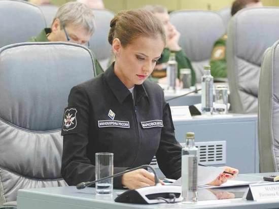 Генерал-майор Россияна Марковская. Фото