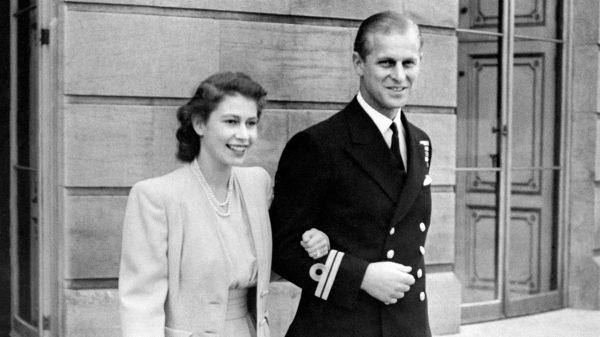 принц Филипп, королева Елизавета