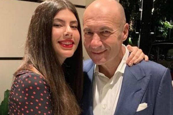 Игорь Крутой с дочкой