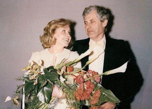 Ангелина Вовк с покойным мужем