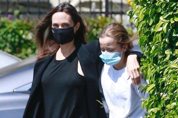 Анджелина Джоли с Вивьен