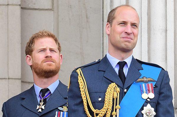 Принцы Гарри и Уильям помирились на похоронах герцога Эдинбургского