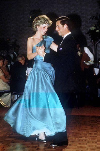 принцесса Диана, принц Чарльз,