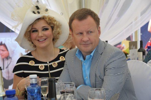 Мария Максакова с Денисом