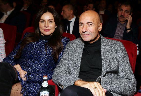 Игорь Крутой с женой Ольгой.