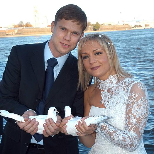 Свадьба Булановой и Радимова. Фото starhit.ru