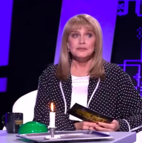 Елена Проклова, кадр из передачи