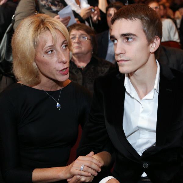 Юлия Рутберг с сыном