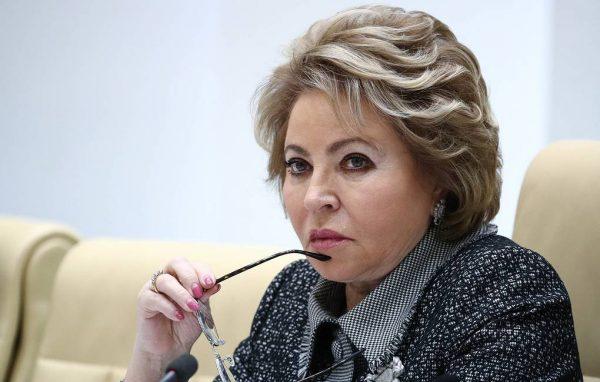Валентина Матвиенко. © Сергей Бобылев/ТАСС