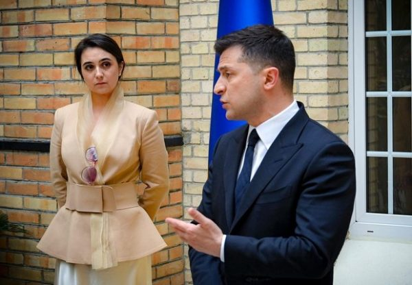Владимир Зеленский, Юлия Мендель