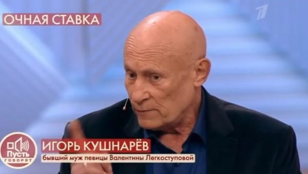 """кадр из передачи """"Пусть говорят"""""""