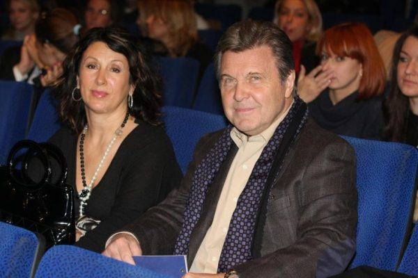 Лев Лещенко со второй женой Ириной