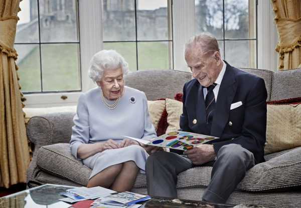 королева Елизавета, принц Филипп