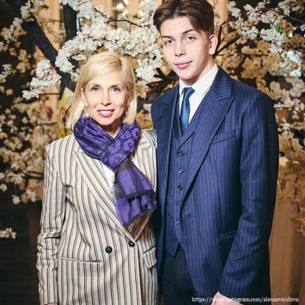 Алена Свиридова с Григорием