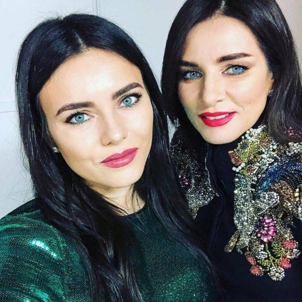 Ольга Крутая с дочкой Викторией