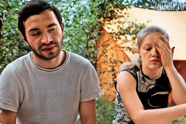 С первым мужем Виталием Мелик-Каримовым