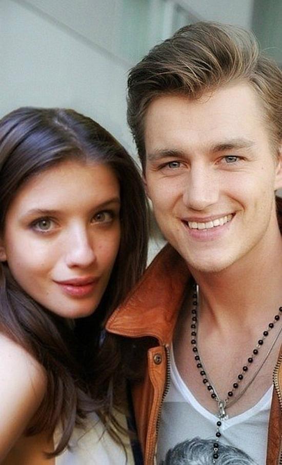Алексей Воробьев с Анной Чиповской