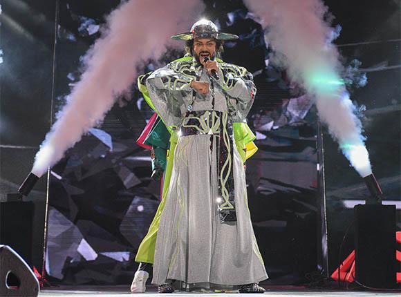 Филипп Киркоров на сцене. Фото kuban24.tv