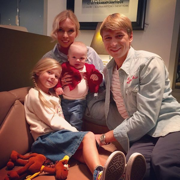 Татьяна Тотьмянина и Алексей Ягудин с детьми