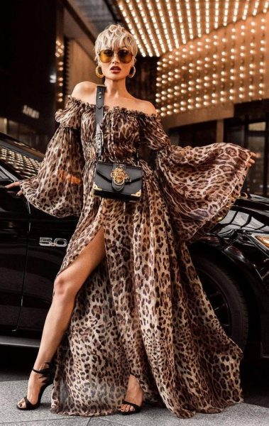 Dresses with prints 2021