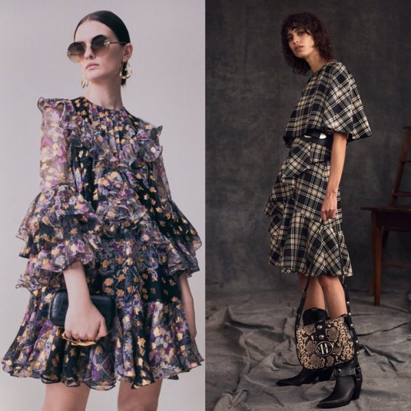fashion dresses 2021 Dresses with prints cage