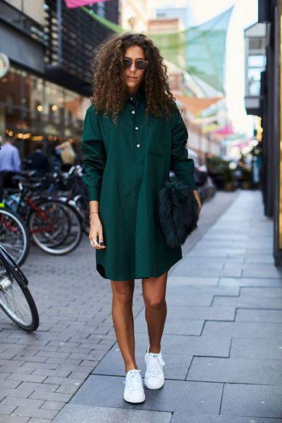 Fashionable shirt dresses