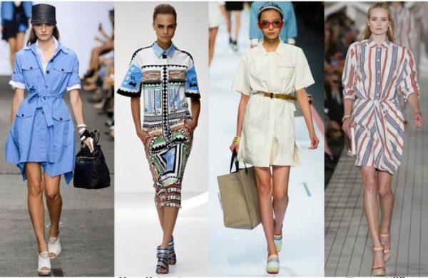 Модные женские платья на весну 2021-2022. Интересные фото образов