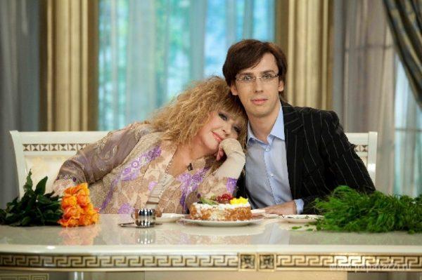 Максим Галкин с женой