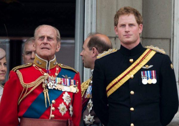 принц Филипп, принц Гарри,