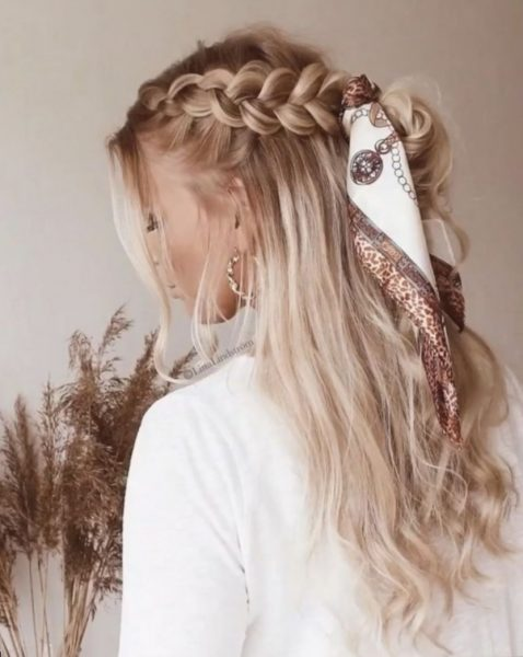 In the braid