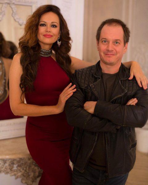 Ирина Безрукова со своим директором Петро Шекшеевым